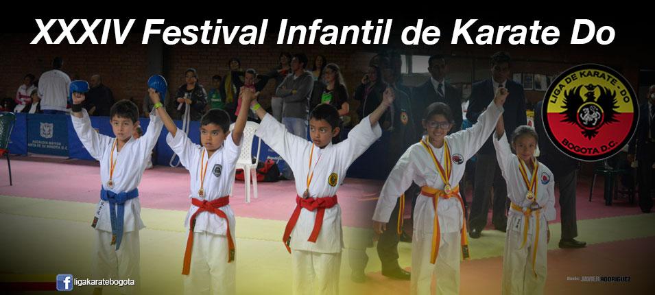 Imagen de portada para el artículo: XXXIV Festival Infantil Karate Do