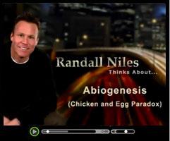 Abiogenesis - Watch this short video clip