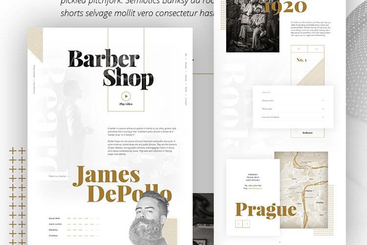 Concept No. 1 Barber Shop