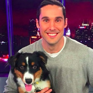 Keith Jones and his dog Charlie.