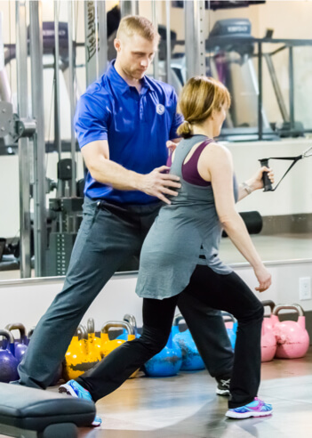 one on one training with personal coaches at Fitnastika Fitness in Vancouver