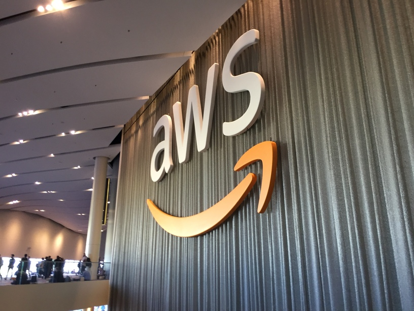 photo from the AWS re:Invent conference
