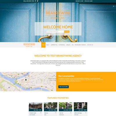 Creative Design for Real Estate Company