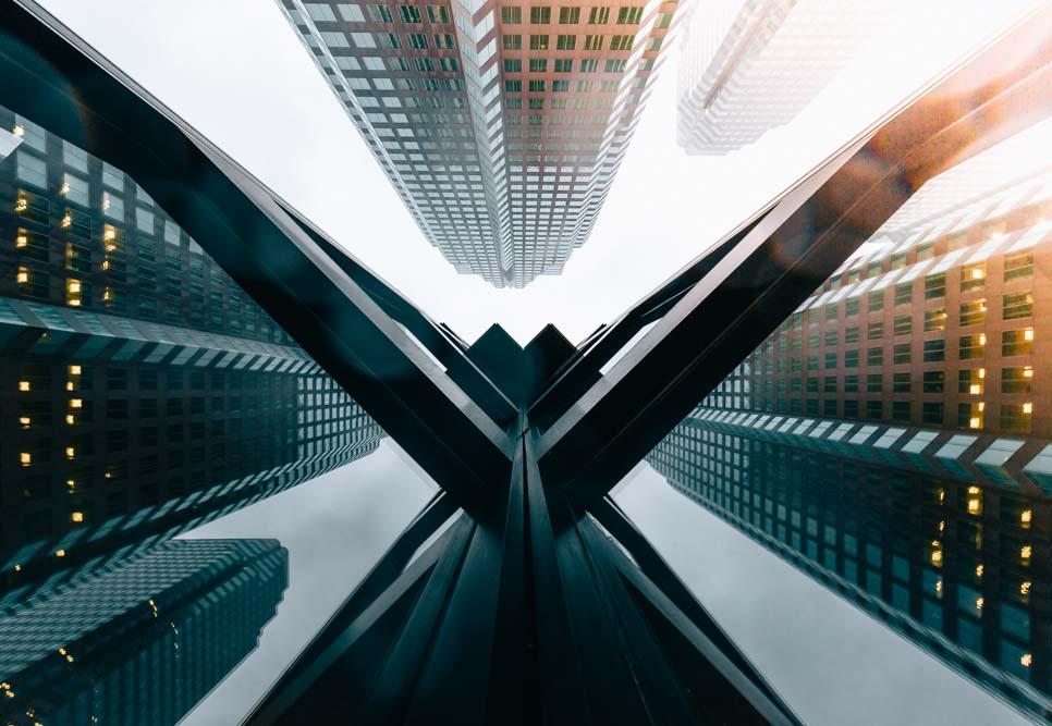 Architechture look up in Toronto