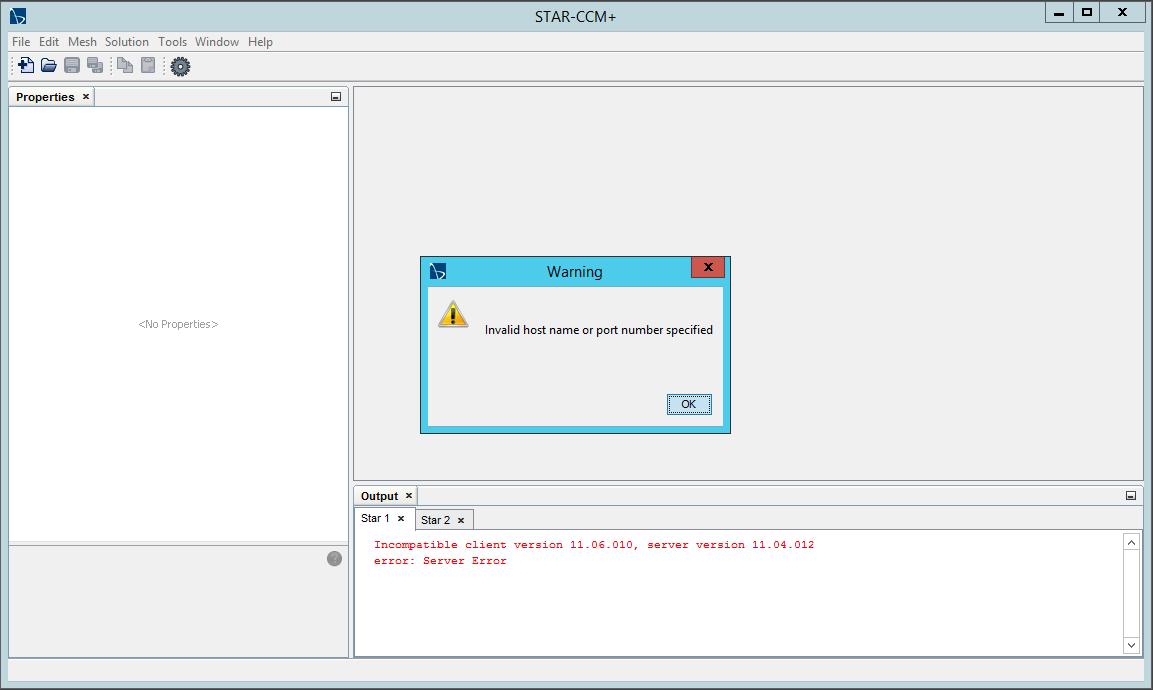 STAR-CCM+ Remote Access