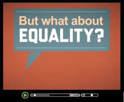 Against Same Sex Marriage - Watch this short video clip