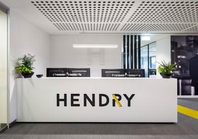 Hendry reception area