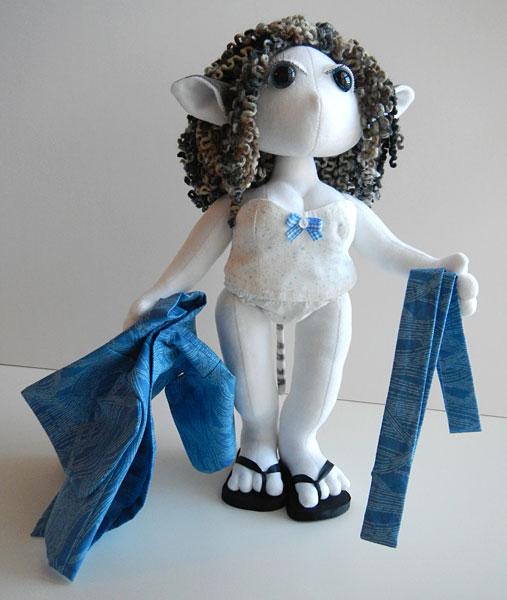 Sasha, Elf Poppet Doll, undies, front