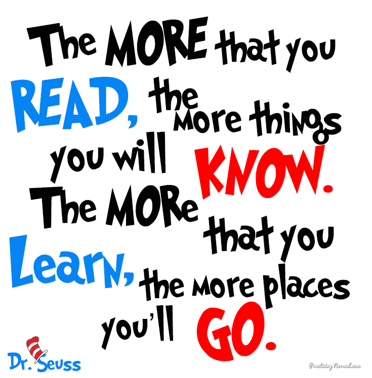 Reading increases your brainpower.