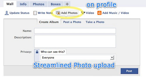 Facebook 2 | profile add photos