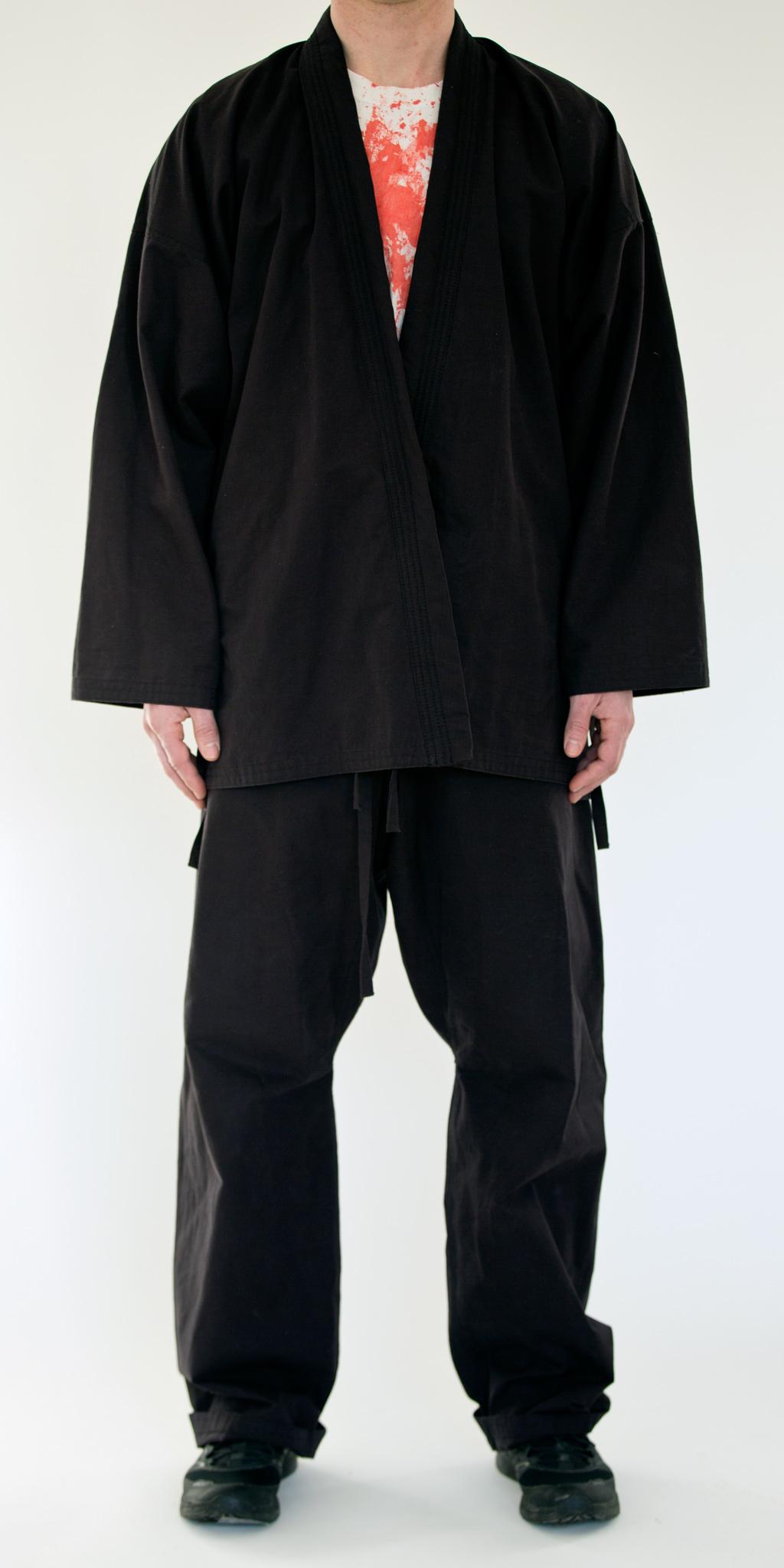 Black Cotton Twill