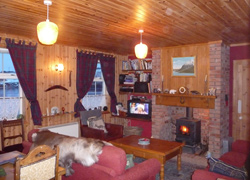 Shetland cottage - sitting room