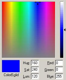 MS Paint Color Chooser
