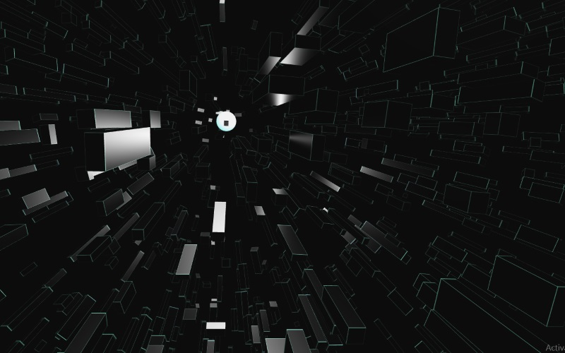 WebGL scene for LOOK AT