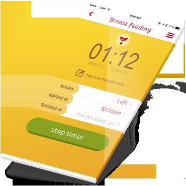 Baby app features