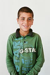 Class 4 - Belal; 'My favorite subject is Islamic Studies.'
