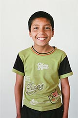 Class 5 - Abdul Qahar; 'My favorite subject is Islamic Studies.'