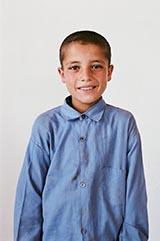 Class 5 - Samir; 'My favorite subject is Dari.'