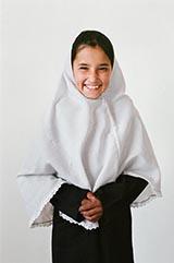 Class 5 - Salima; 'My favorite class is Pashtu Studies.'