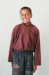Class 6 - Faisal; 'My favorite subject is Dari.'