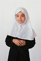 Class 6 - Basira; 'My favorite subject is Math.'