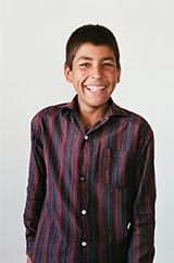 Class 9 - S. Henalat; 'I want to be a doctor and for peace in Afghanistan. Education should take place in every village in our country to help the next generation.'