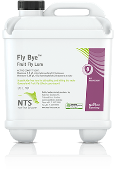 fly-bye fruit fly lure