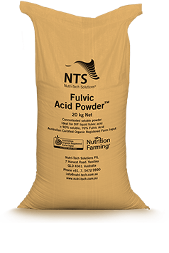 soluble fulvic acid powder