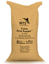nts fulvic acid powder