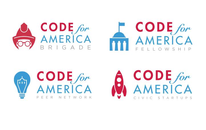 Code for America Program Logos