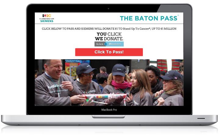Baton Pass Landing Page