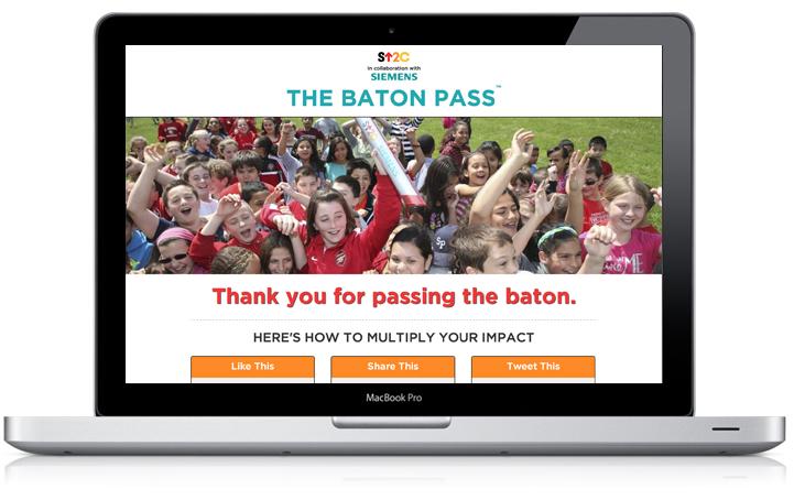 Baton Pass Share Page