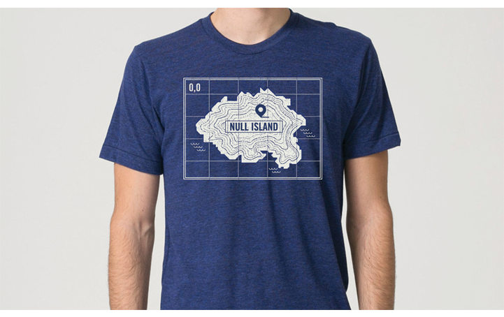 Null Island Teeshirt