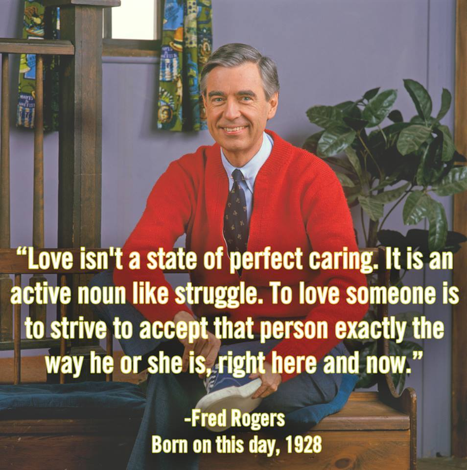 fred rogers on love