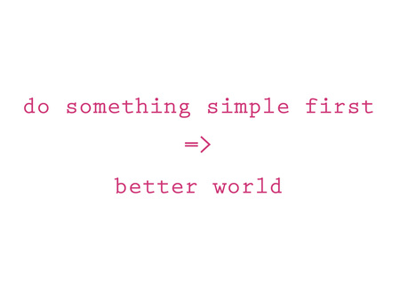 10 Do Something Simple First