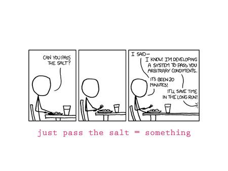 3 Pass The Salt