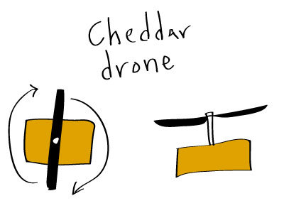 Cheddar Drone 03
