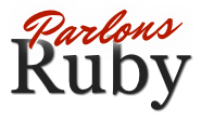 Parlons Ruby