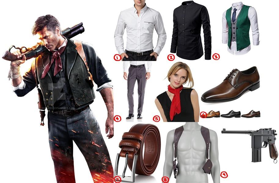 Booker Dewitt Cosplay u0026 Costume Guide  sc 1 st  Costumet & Dress Like Booker DeWitt from BioShock Infinite Costume for Cosplay ...
