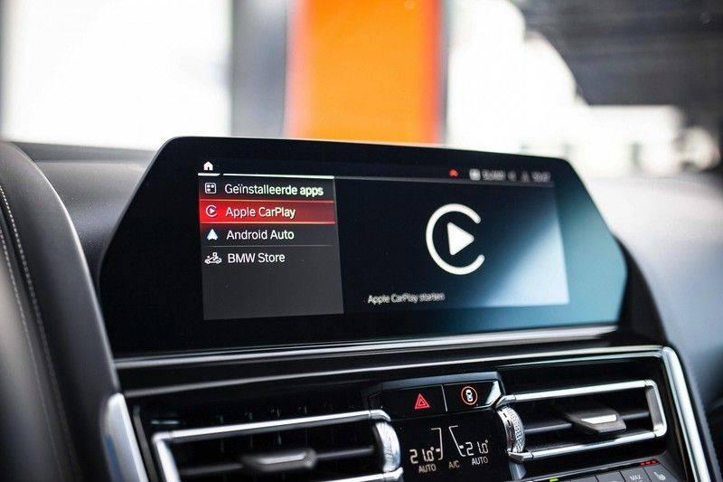 BMW 8 Serie 840d xDrive High Executive *Laser / Harman-Kardon / HUD / Nachtzicht / Carbon / ACC / Nekverwarming* afbeelding 21