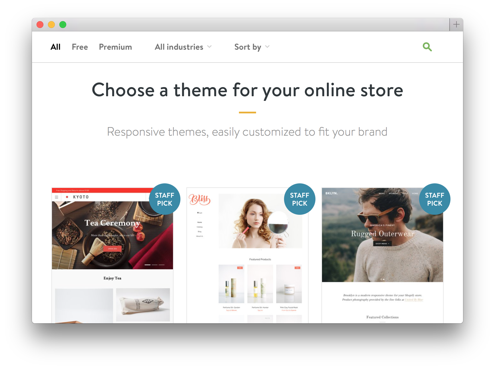 Design Shopify e-shopů