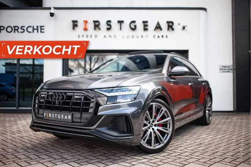 "Audi Q8 55 TFSI E Hybride Quattro *S-Line / B&O / Pano / 23"" / Black Pack / ACC* afbeelding 23"
