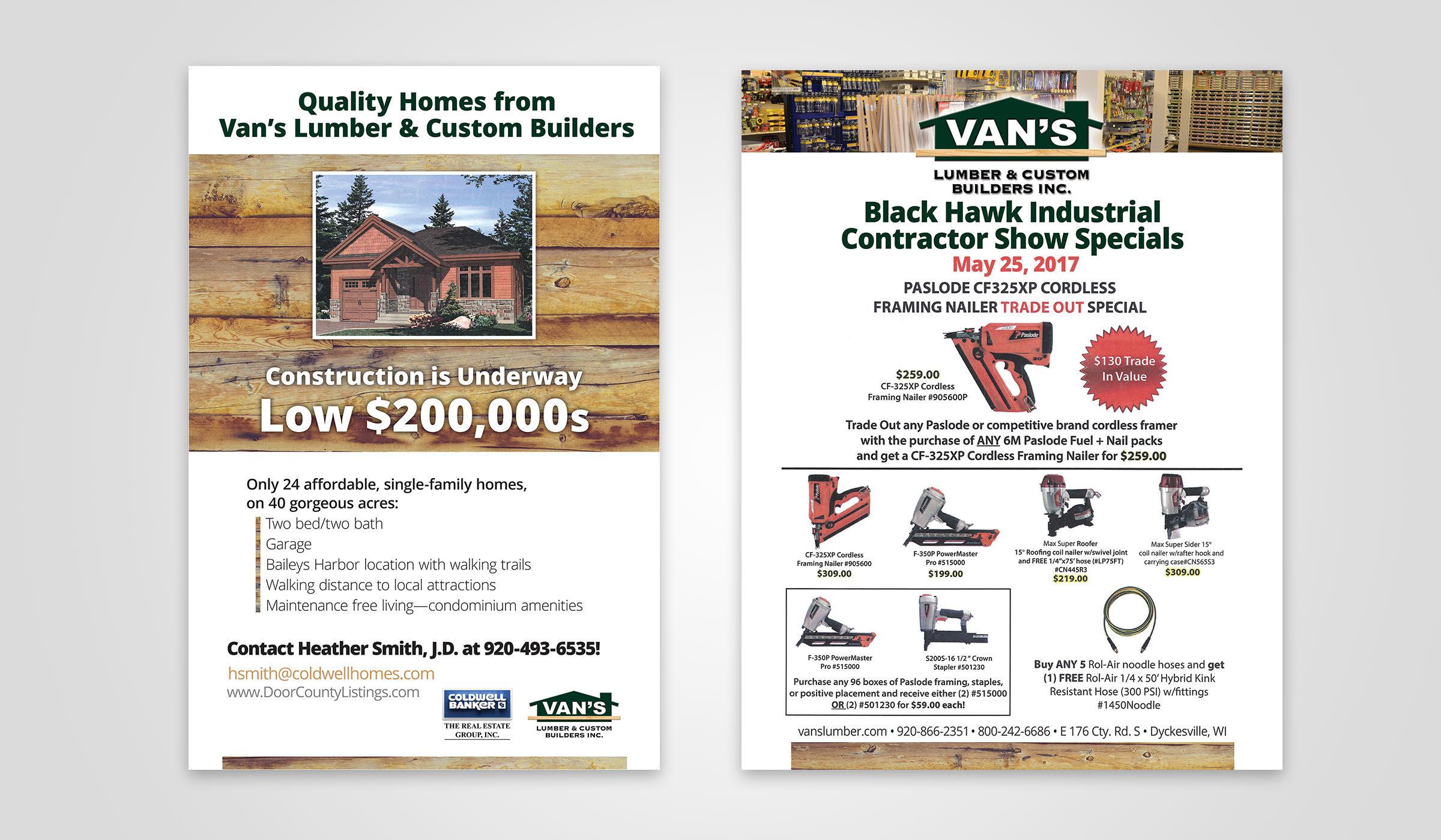 Vans Lumber Print