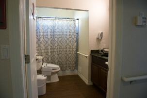 One of our bathrooms.