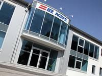 Photo of entrance area of the EZ AGRAR company building