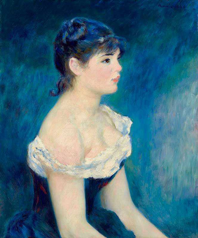 Renoir's Buste de femme, de profil was sold by Christie's New York for $8.18 million in November 2017