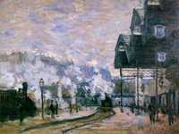 Monet's Exterior of the Saint-Lazare station was sold for £24.9 million in June 2018