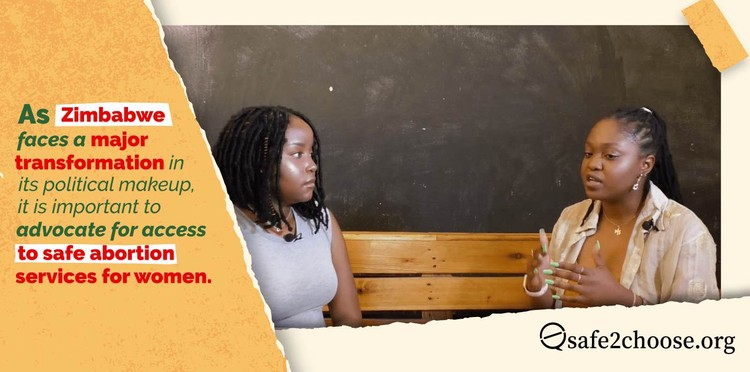 Talking more about abortion in Zimbabwe will help educate women, thus allowing them to combat the associated stigma and advocate for access to abortions.