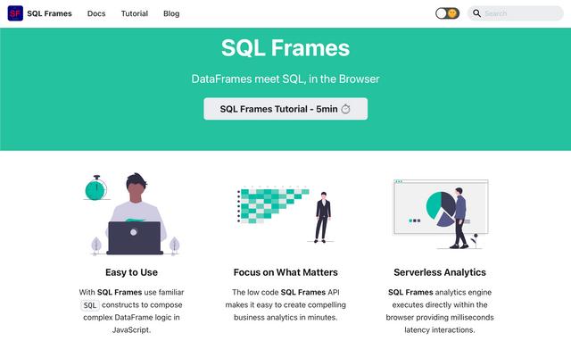 SQL Frames