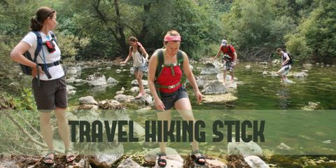 Travel Hiking Stick to Lean on When Going Gets Tough